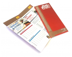 24 Page DL Booklet or Brochure